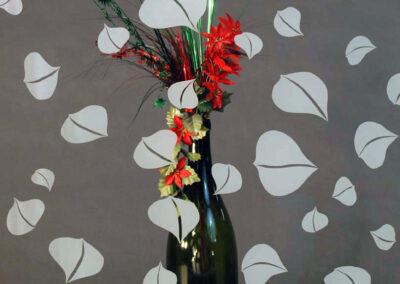 Autumn Aspen with Vase