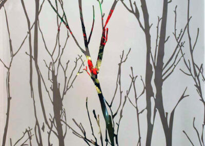Winter Forest Rev with Vase