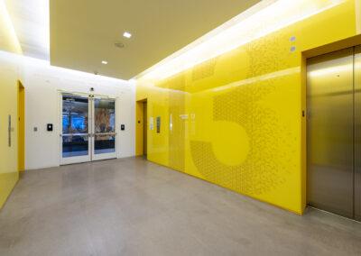 Western Union 13th Floor Elevator Lobby