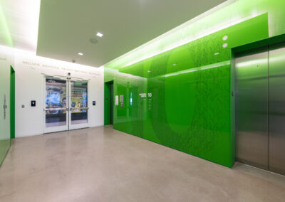 Western Union 10th Floor Elevator Lobby