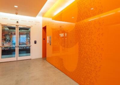 Western Union 9th Floor Elevator Lobby