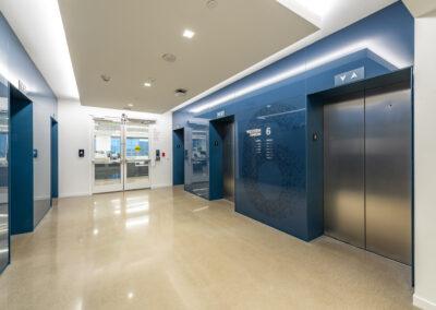 Western Union 6th Floor Elevator Lobby