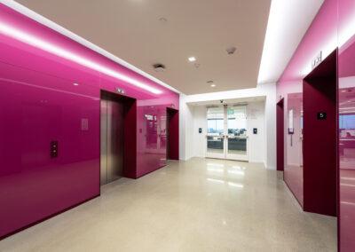 Western Union Elevator Lobby