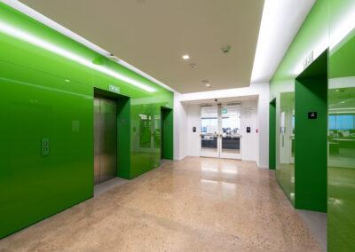 Western Union 4th Floor Elevator Lobby